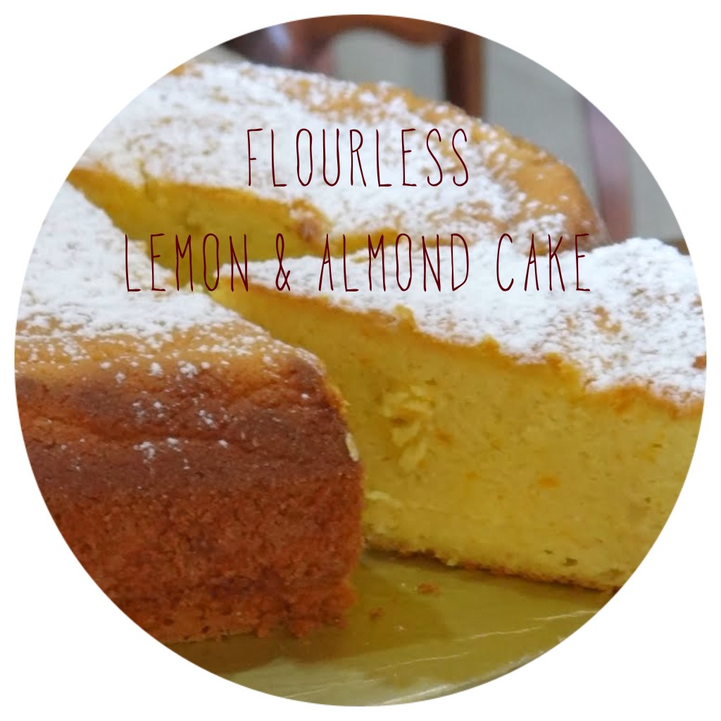 FLOURLESS LEMON-ALMOND CAKE – Syllabubble