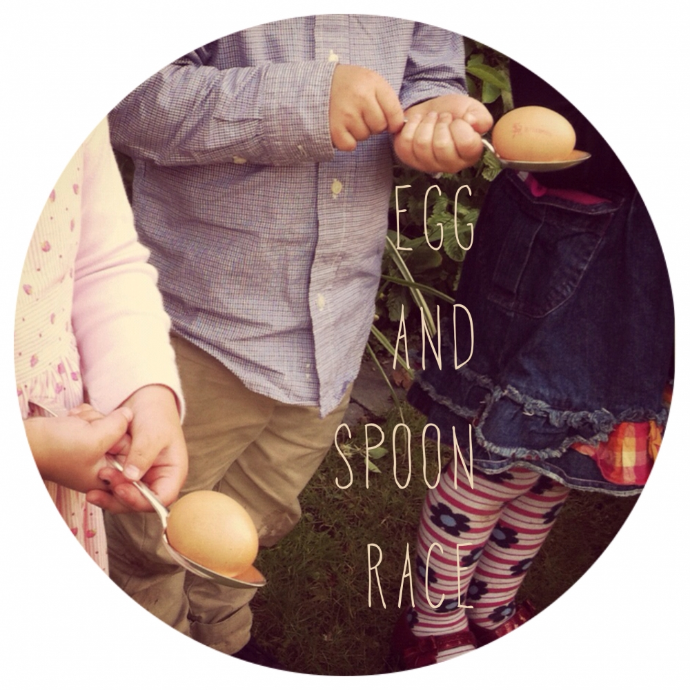 egg and spoon race instructions