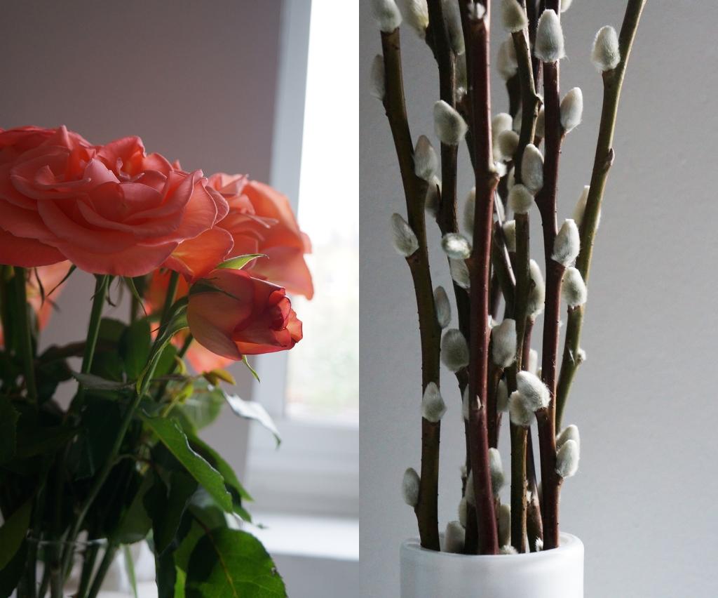 mixtwo roses